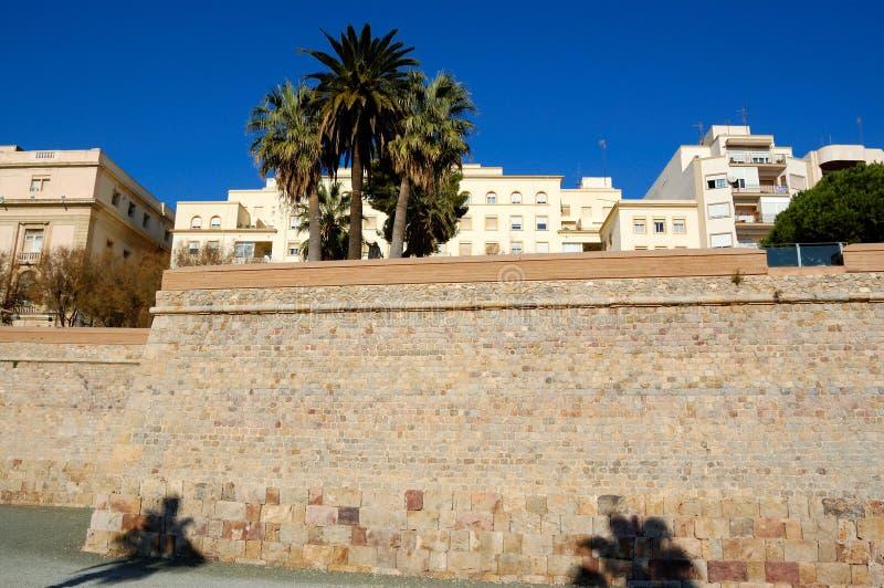 Download Cartagena walls, spain stock photo. Image of vacations - 23764364