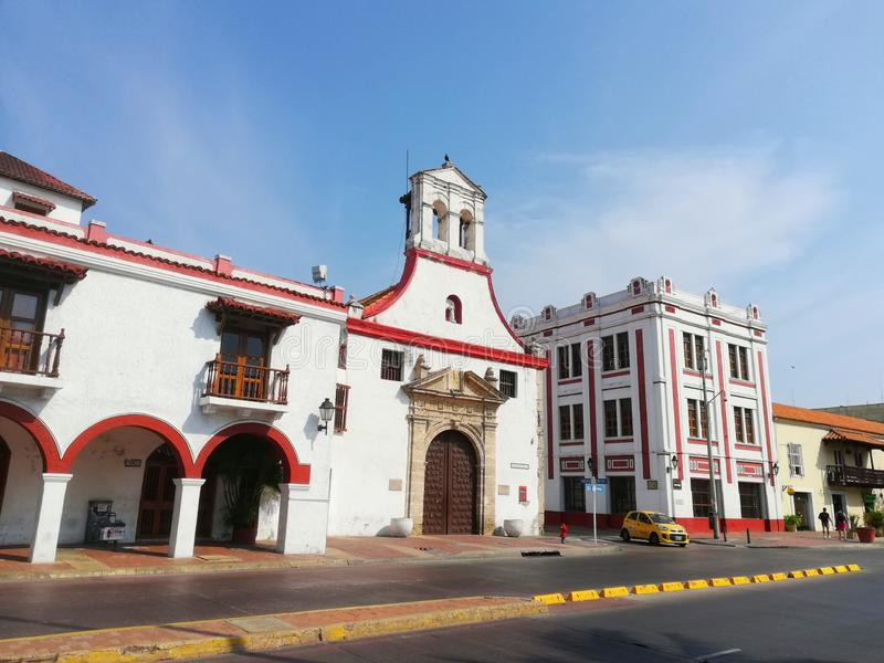 Cartagine colombia fotografie stock
