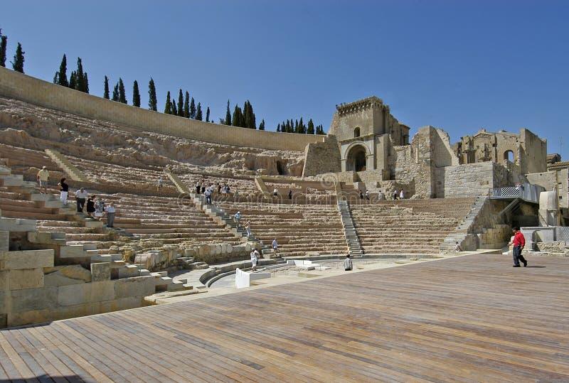 Cartagine Spagna Roman Theater immagini stock