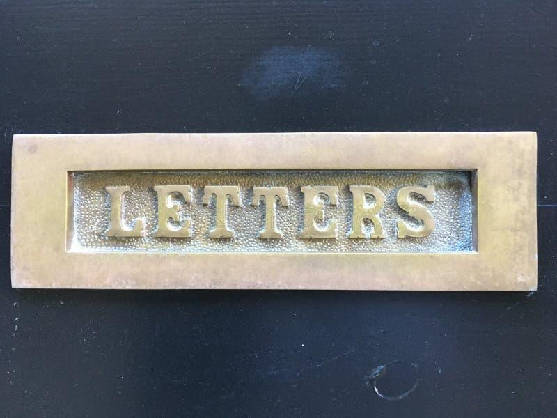 cartas fotografía de archivo