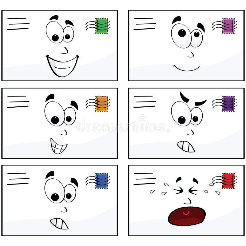 Cartas de la emoción libre illustration