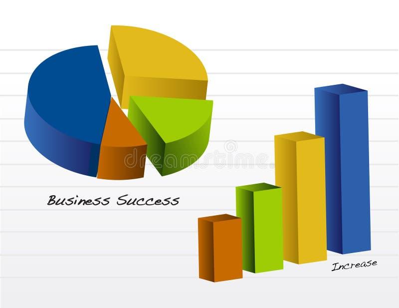 Cartas de negócio/vetor ilustração do vetor
