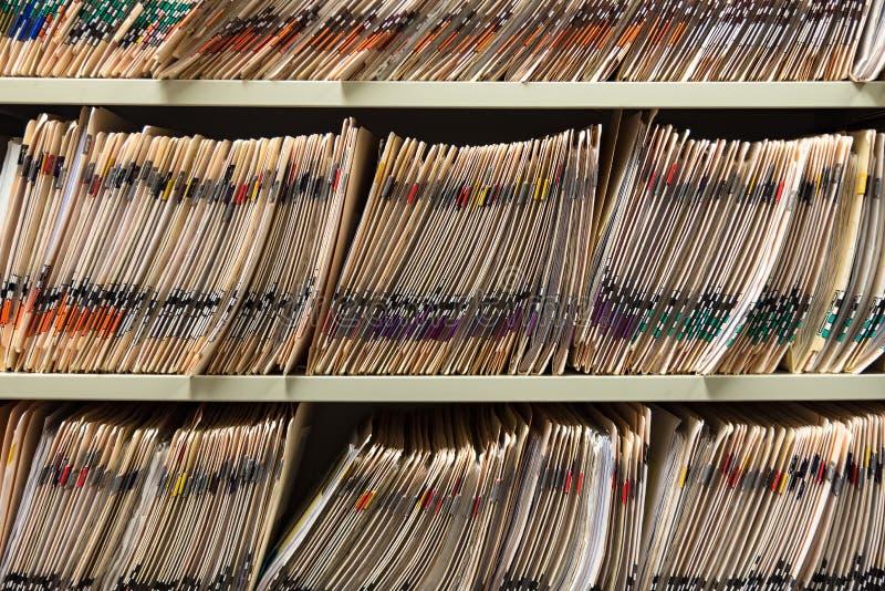 Cartas médicas imagenes de archivo