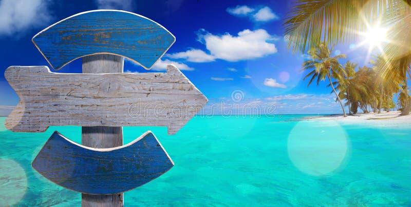 Cartaz da opinião do beira-mar da arte imagens de stock