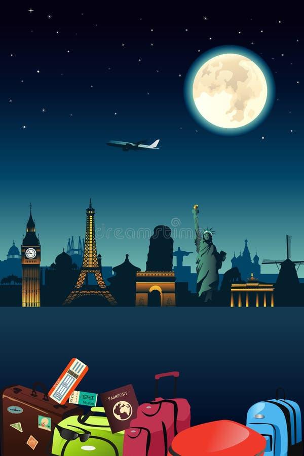Cartaz do curso ilustração stock