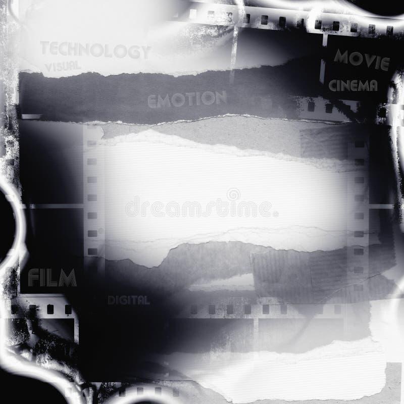 Cartaz do filme fotografia de stock