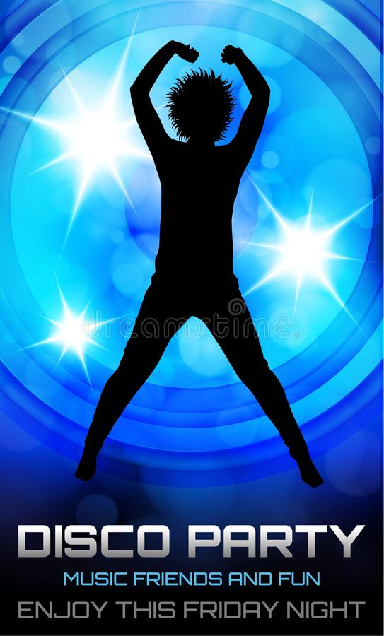 Download Cartaz do partido de disco ilustração do vetor. Ilustração de discotheque - 29833090