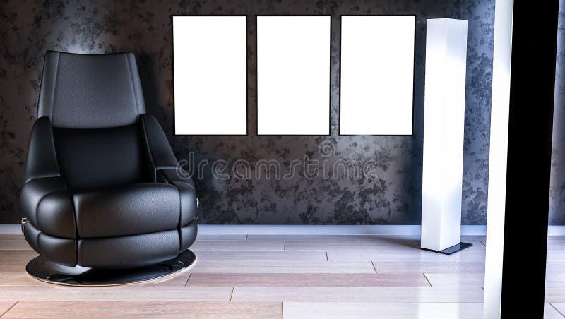 Cartaz interior imagens de stock royalty free