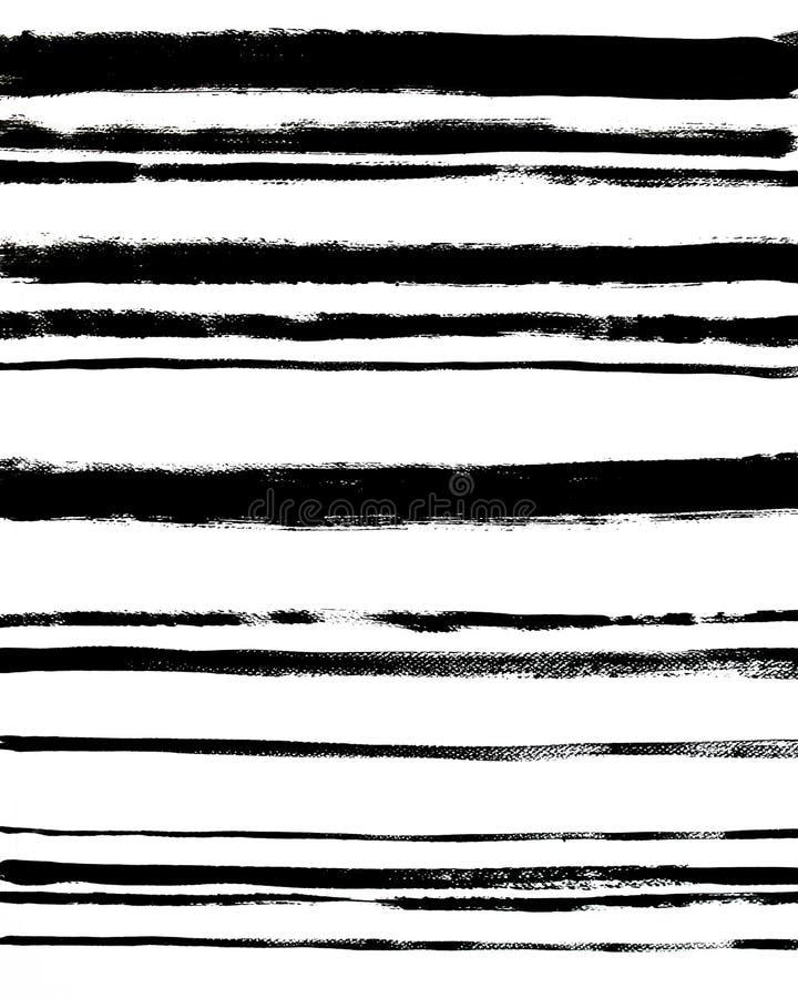 Cartaz interior abstrato na moda Fundo listrado ilustração do vetor