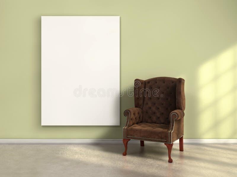 Cartaz na parede fotografia de stock royalty free