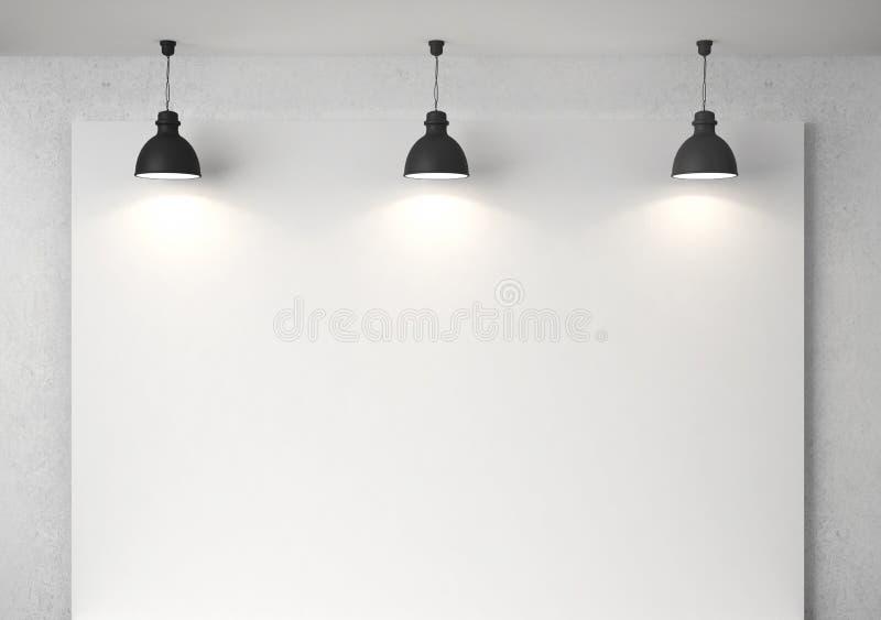 Cartaz na parede