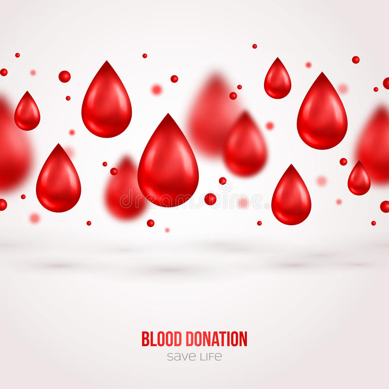 Cartaz ou inseto fornecedor Salvamento da doação de sangue ilustração royalty free
