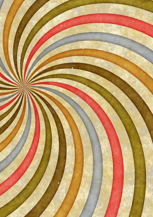 cartaz retro do pop art 60s ilustração do vetor