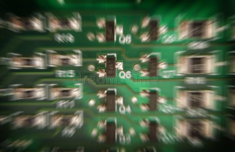 Carte électronique photographie stock libre de droits