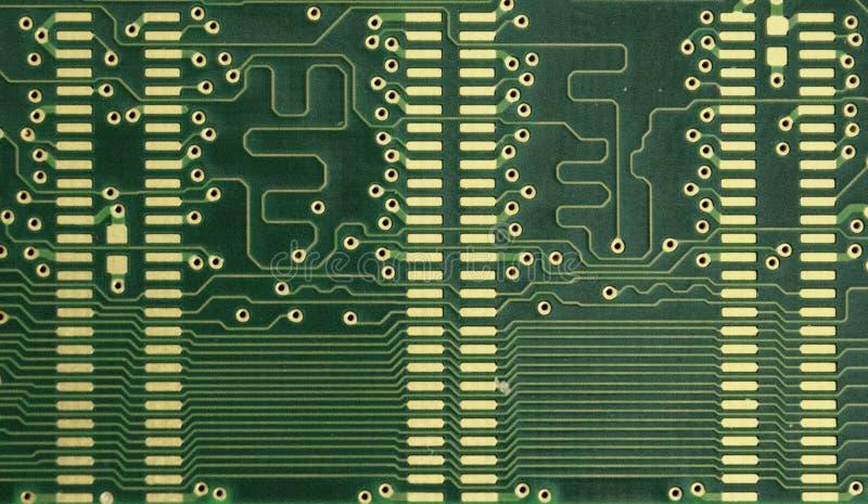 Carte électronique, arrière de conseil de Ram photographie stock libre de droits