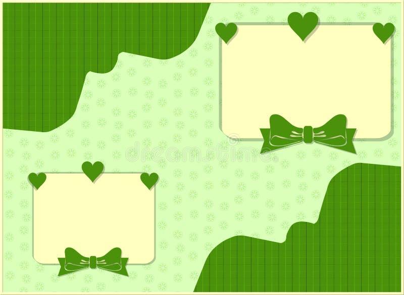 Carte illustration stock