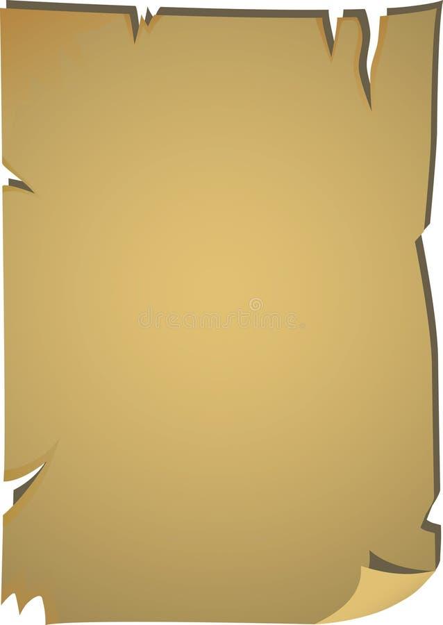 Carte blanc de pirate illustration de vecteur