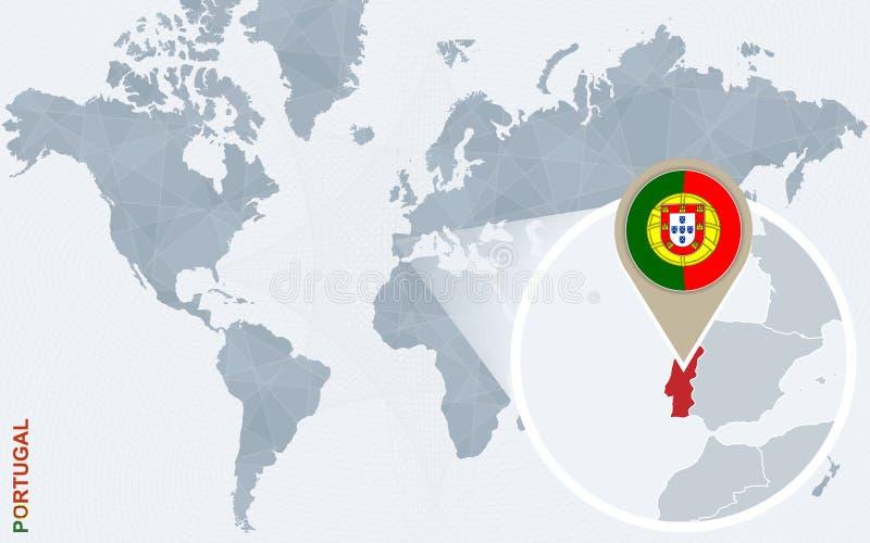 carte du monde portugal