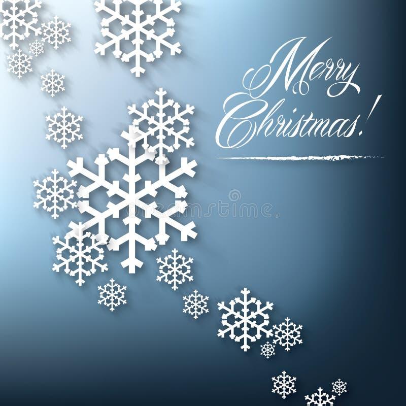 Carte contemporaine de Joyeux Noël photos libres de droits