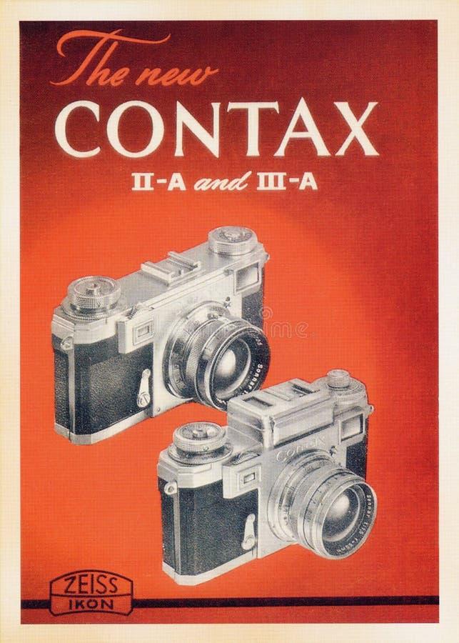 Carte d'affiche de vintage image libre de droits