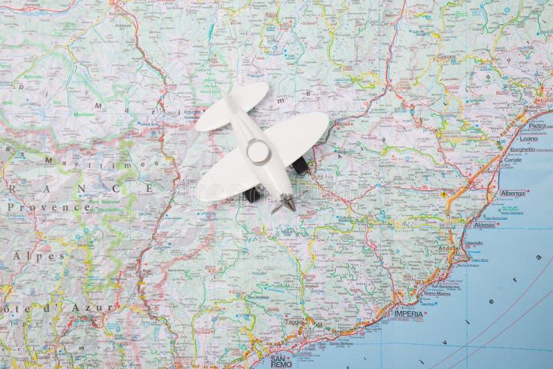 Carte d'aviation photos libres de droits