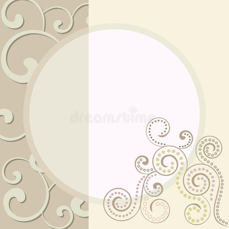 carte d 39 invitation de mariage image stock image 25308681. Black Bedroom Furniture Sets. Home Design Ideas