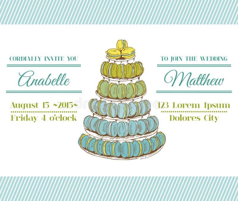 Carte D Invitation De Mariage Photos stock