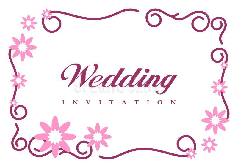 carte d 39 invitation de mariage images stock image 8550504. Black Bedroom Furniture Sets. Home Design Ideas