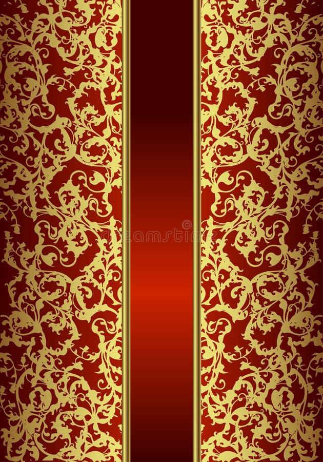 Carte d'or royale photographie stock libre de droits