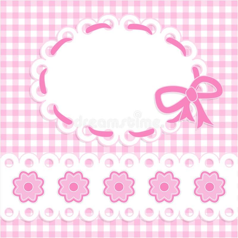 Carte de bébé illustration stock