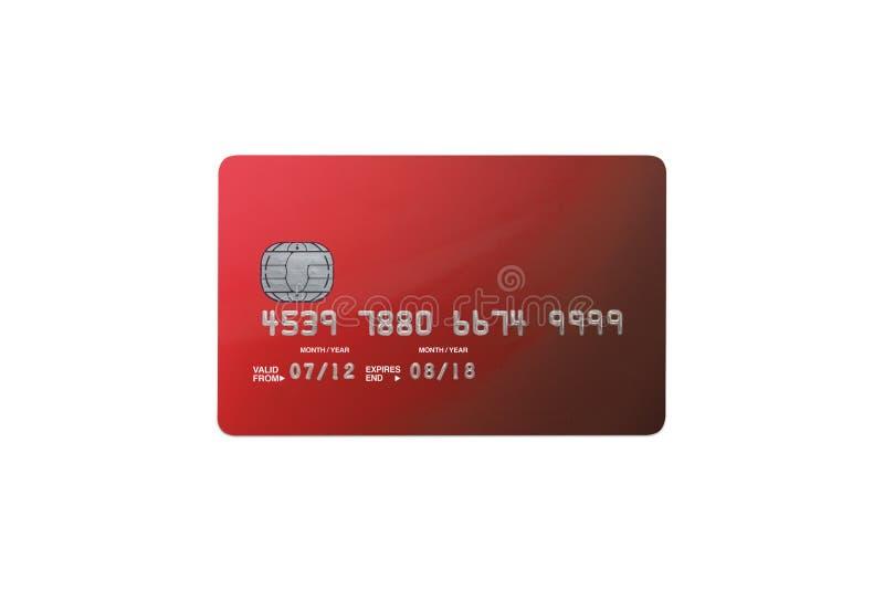 Carte de banque photo stock