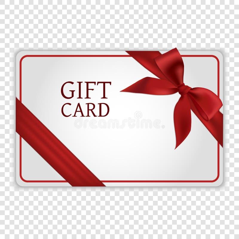Carte de cadeau illustration libre de droits