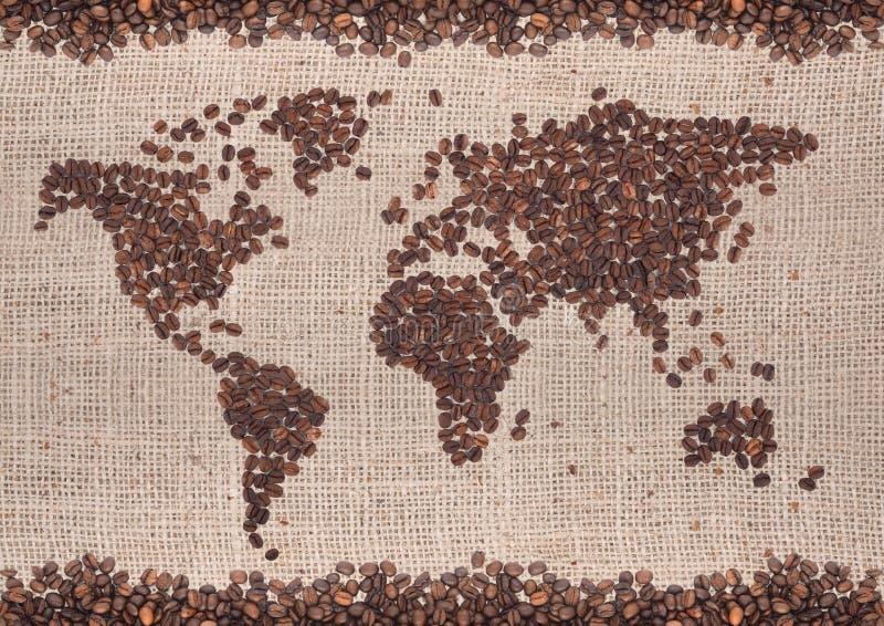 Carte de café images libres de droits