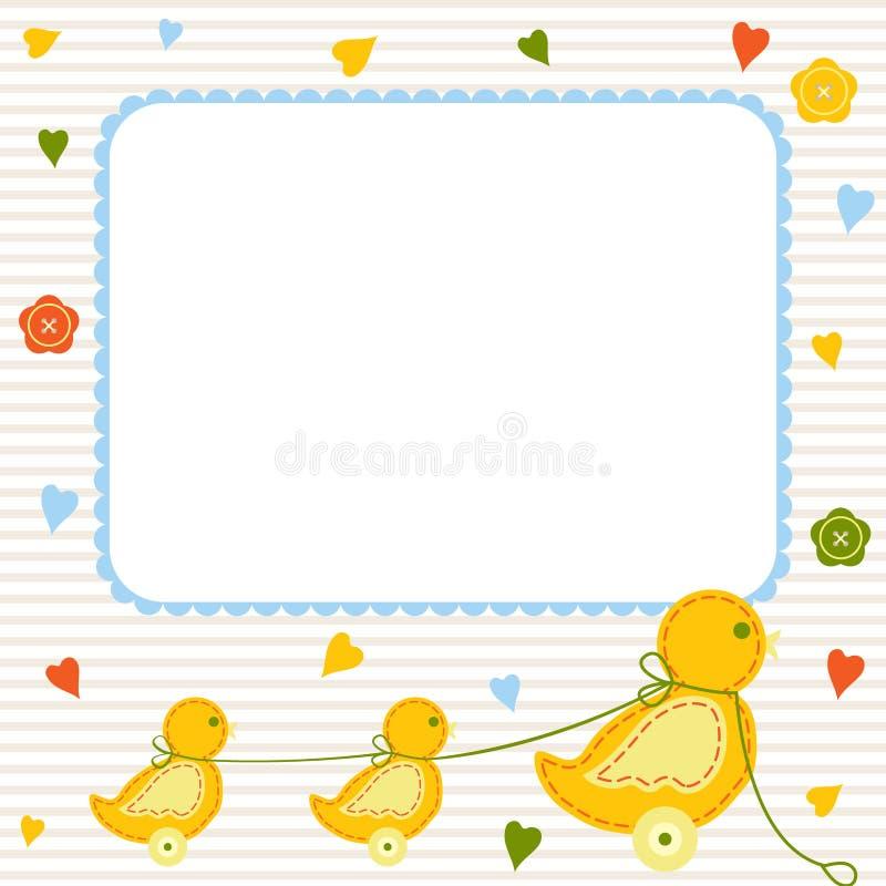 Carte de chéri illustration stock