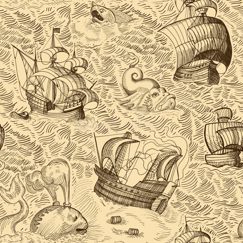 Carte de cru illustration stock