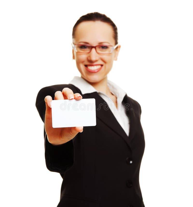 carte de femme d'affaires photo libre de droits