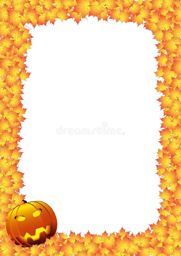 Download Carte de Hallowen illustration stock. Illustration du visage - 45369452