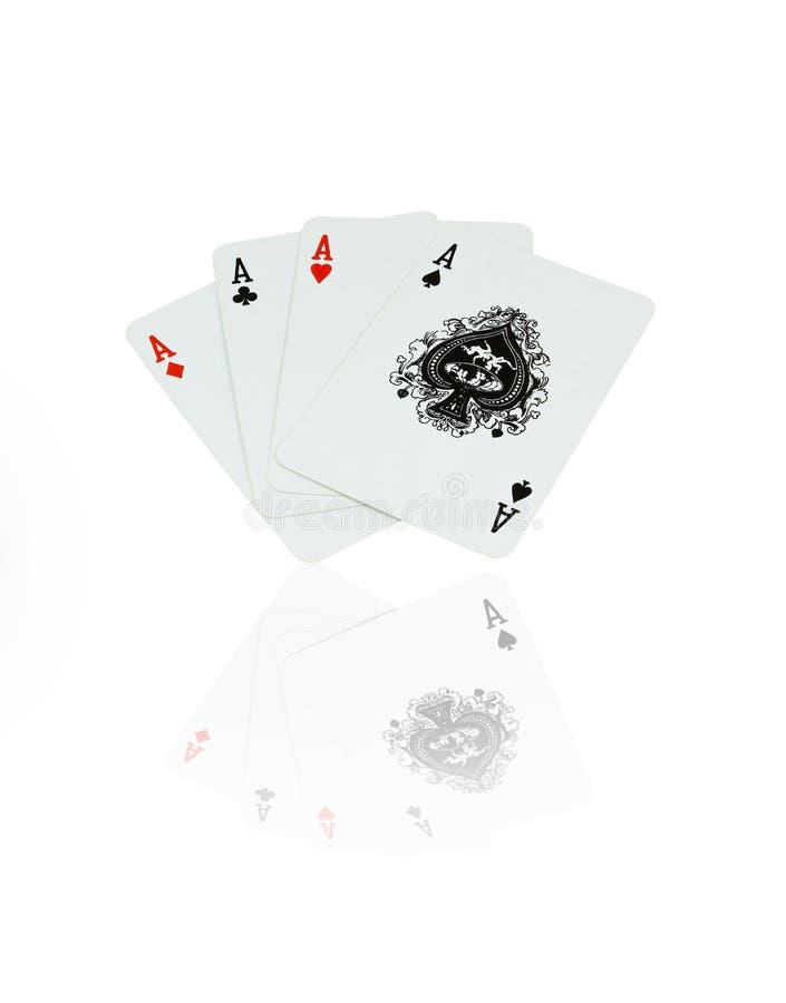 Carte de jeu photographie stock libre de droits