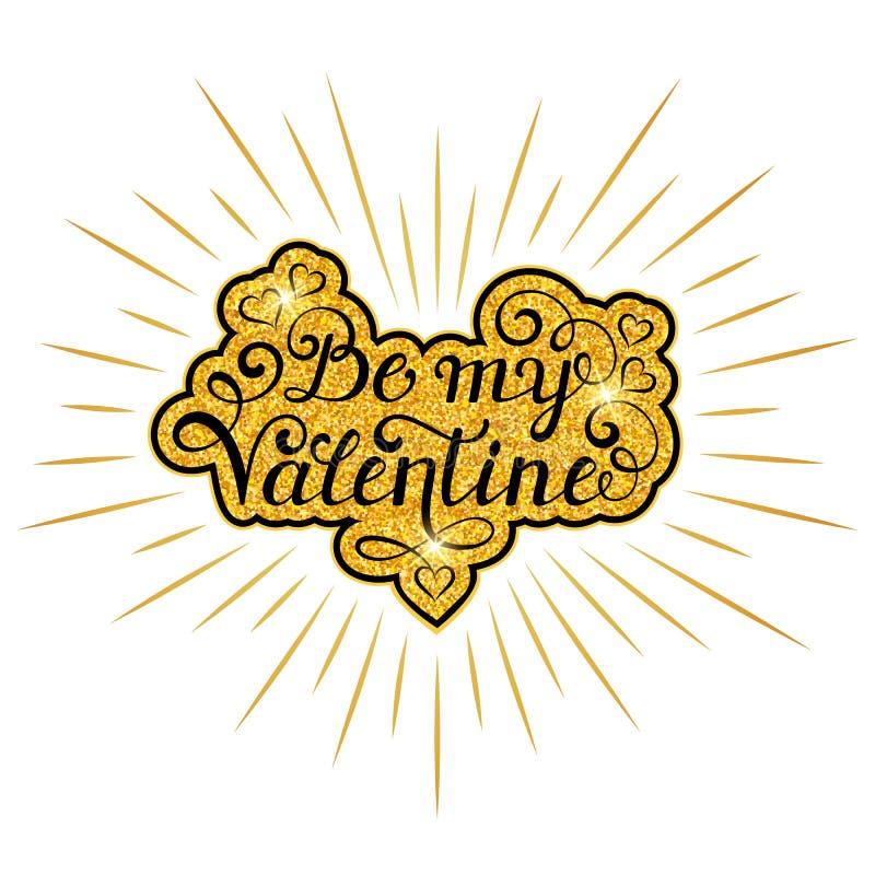Carte de jour de Valentine s illustration stock