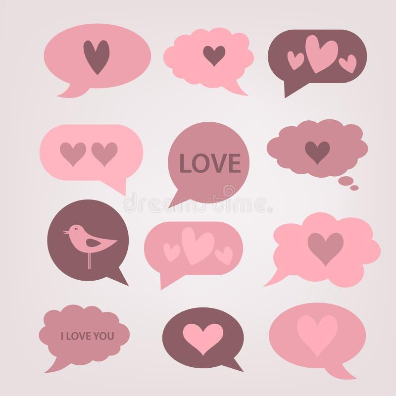 Carte de jour de Valentines photo stock