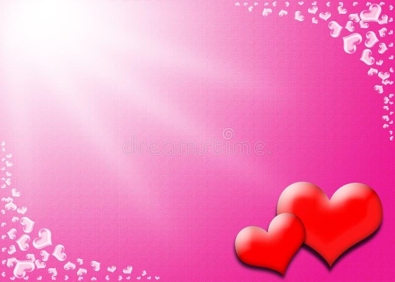 Carte de jour de Valentines photographie stock