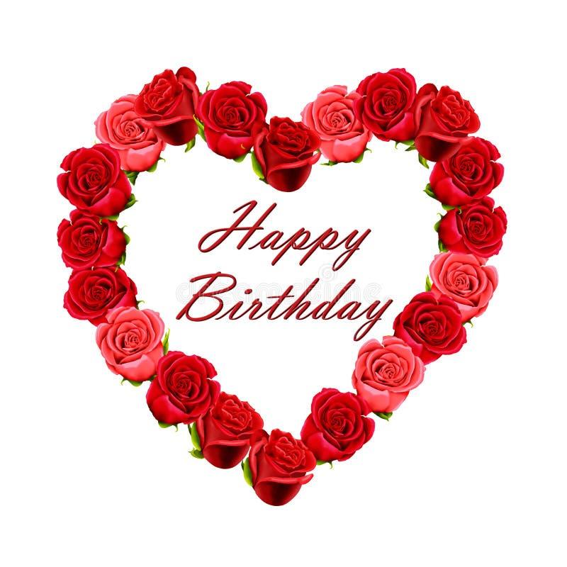 Valentine Birthday Cake Stock Photo