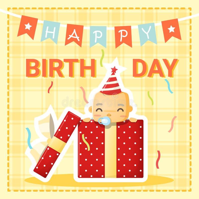 voeux anniversaire bébé