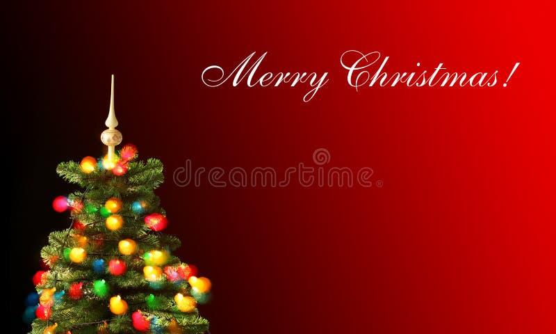 Carte de Joyeux Noël photographie stock