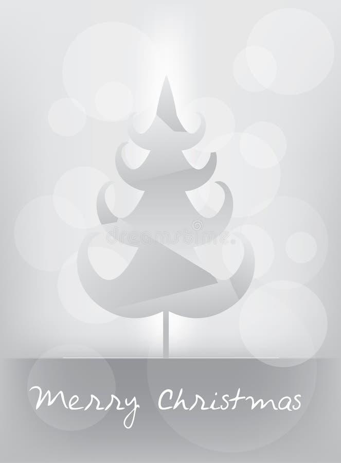 Carte de Joyeux Noël images libres de droits
