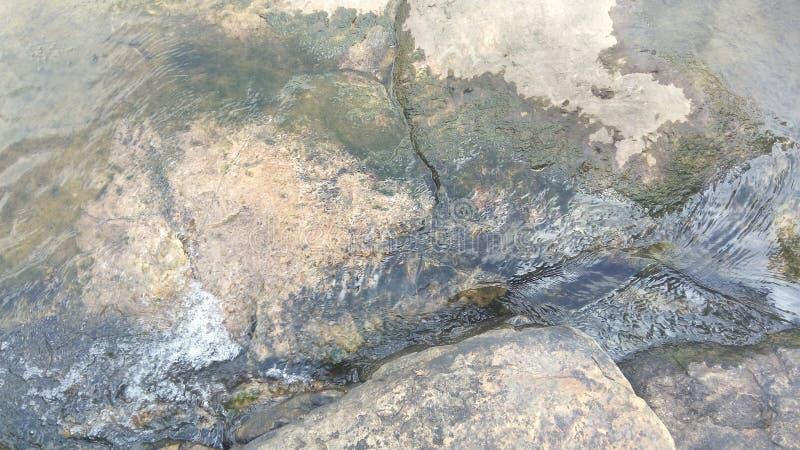 Carte de l'eau de soufflement images stock