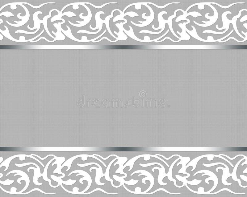 Carte de mariage élégante illustration stock