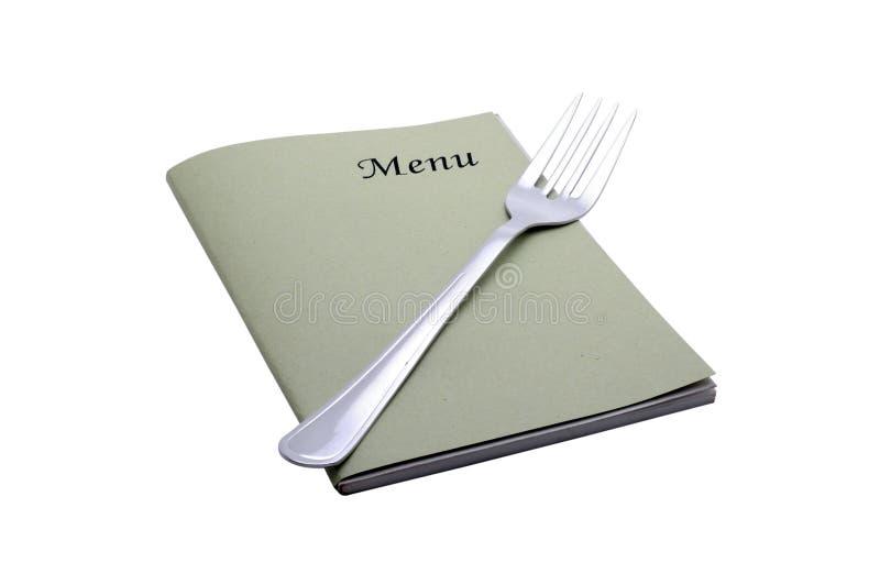 Carte de menu photos libres de droits