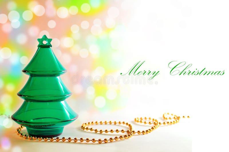 Carte de Noël élégante de fond de Noël photographie stock