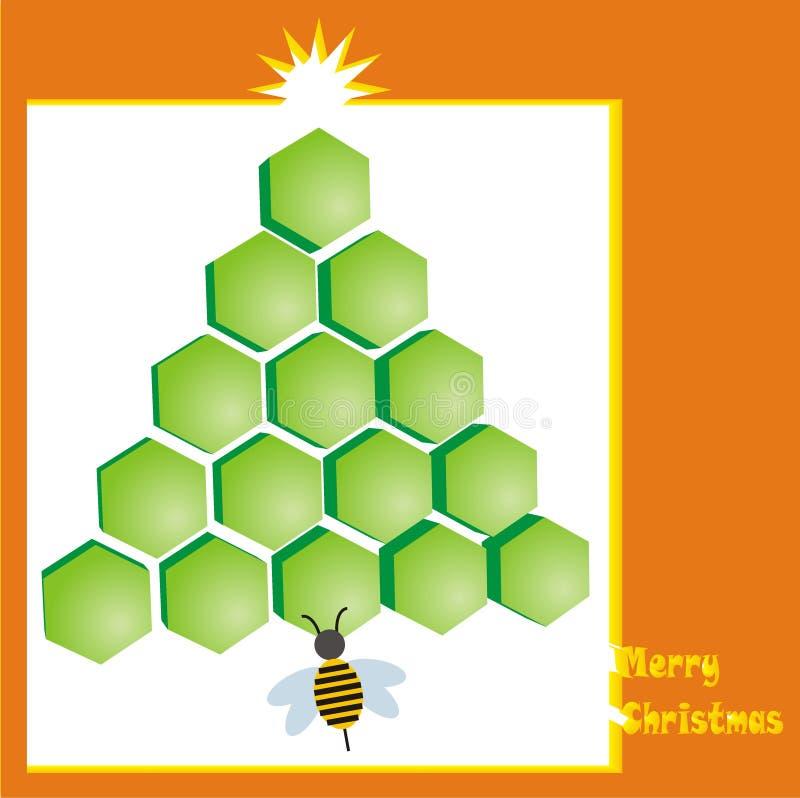 Carte de Noël 2 illustration de vecteur
